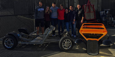 Cal High Roadster - A group of CHS Engineering students are working to restore  it